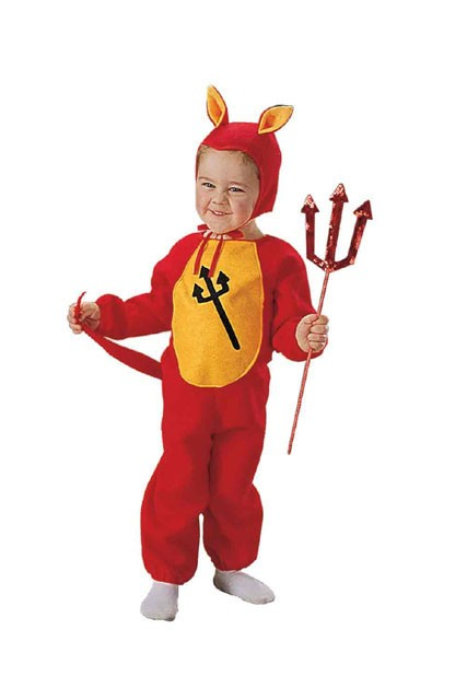 Little Demon Toddler Costume
