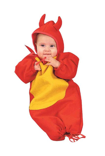 Little Devil Baby Costume