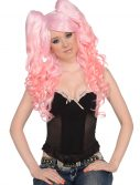 Long Light Pink 3 Piece Wig