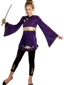 Lotus Warrior Tween Ninja Costume