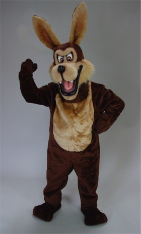 Mean Coyote Mascot Costume