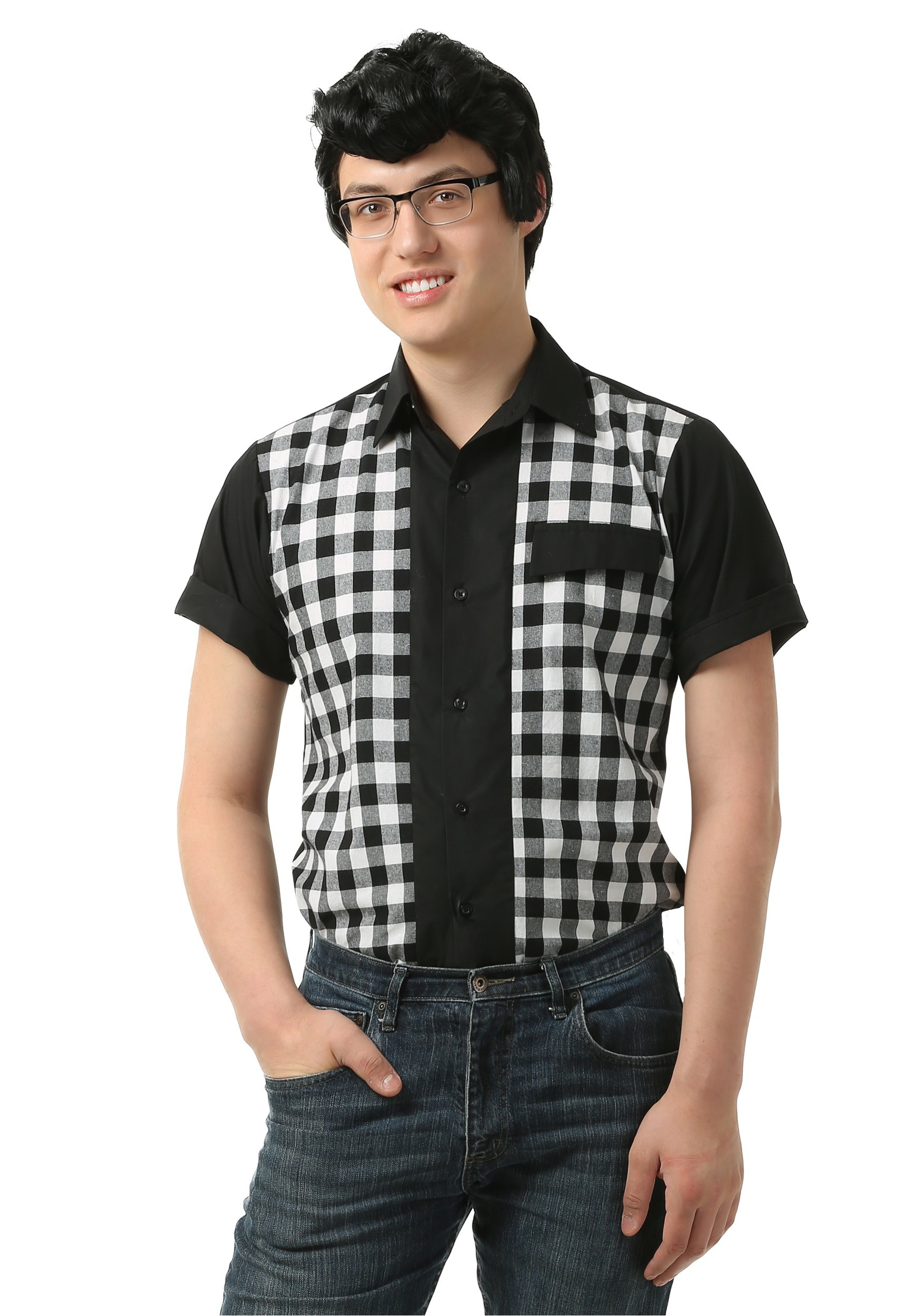 Men's 50s Bowler Shirt