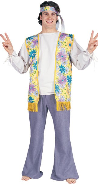 Men's 60's Flower Child Costume
