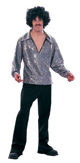 Men's 70's Disco Fever Costume