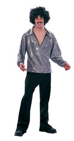 Men's 70's Disco Fever Shirt (Plus Size)