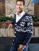 Mens Batman Christmas Cardigan