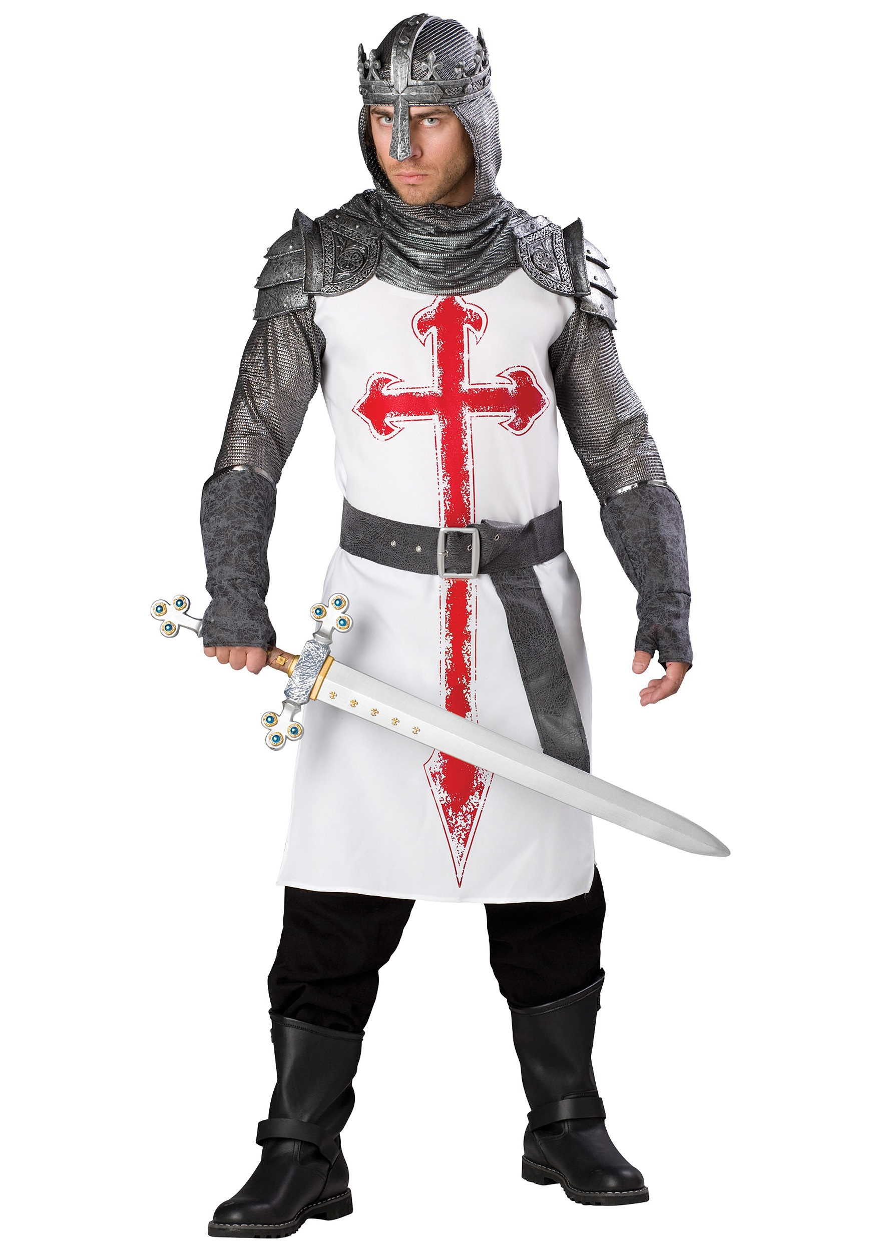 Men's Crusader Knight Costume