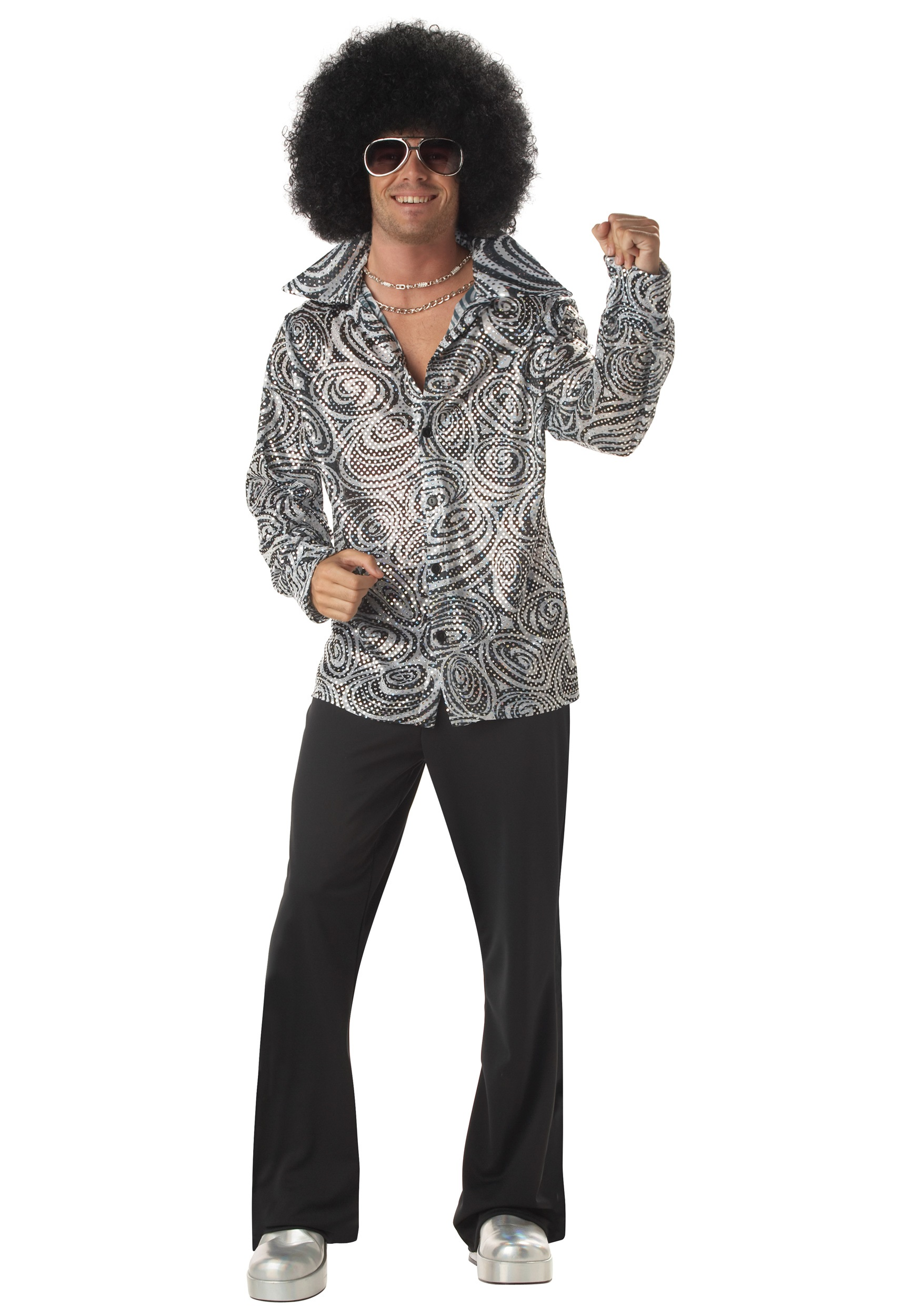 Mens Disco Shirt
