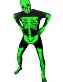 Mens Glow Skeleton Morphsuit