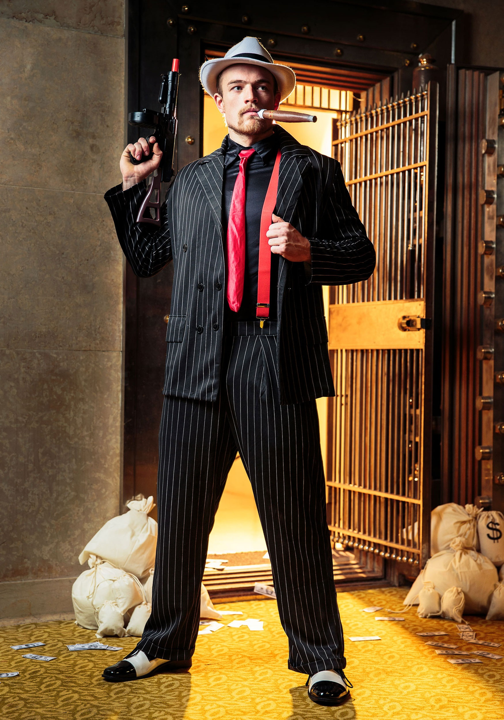 Mens Mob Boss Costume