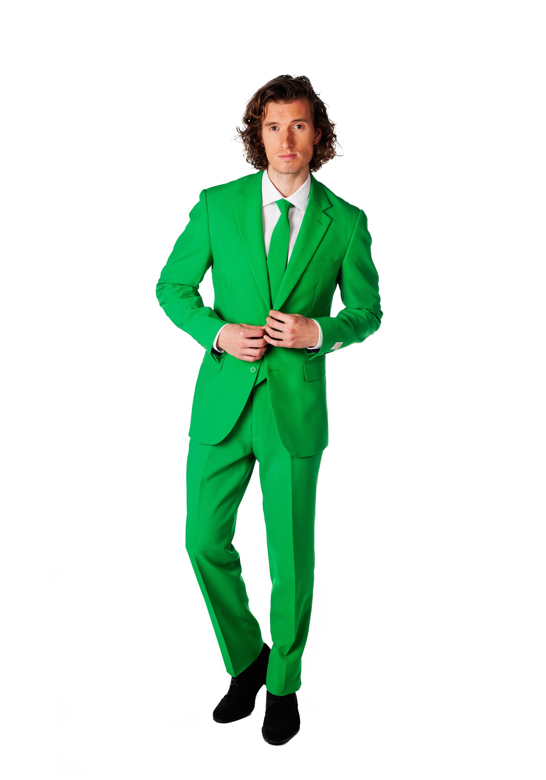 Men's OppoSuits Green Suit