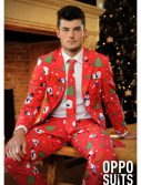 Men's OppoSuits Red Christmas Suit