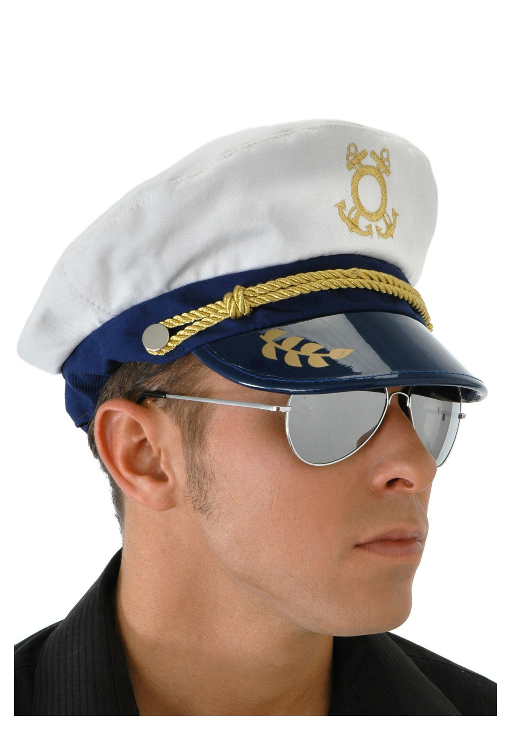 Mens Sailor Captain Hat