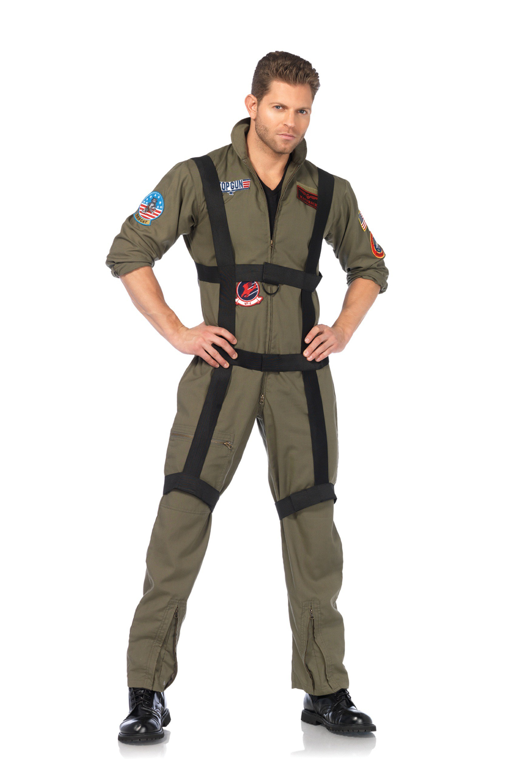Men's Top Gun Jumpsuit with Harness