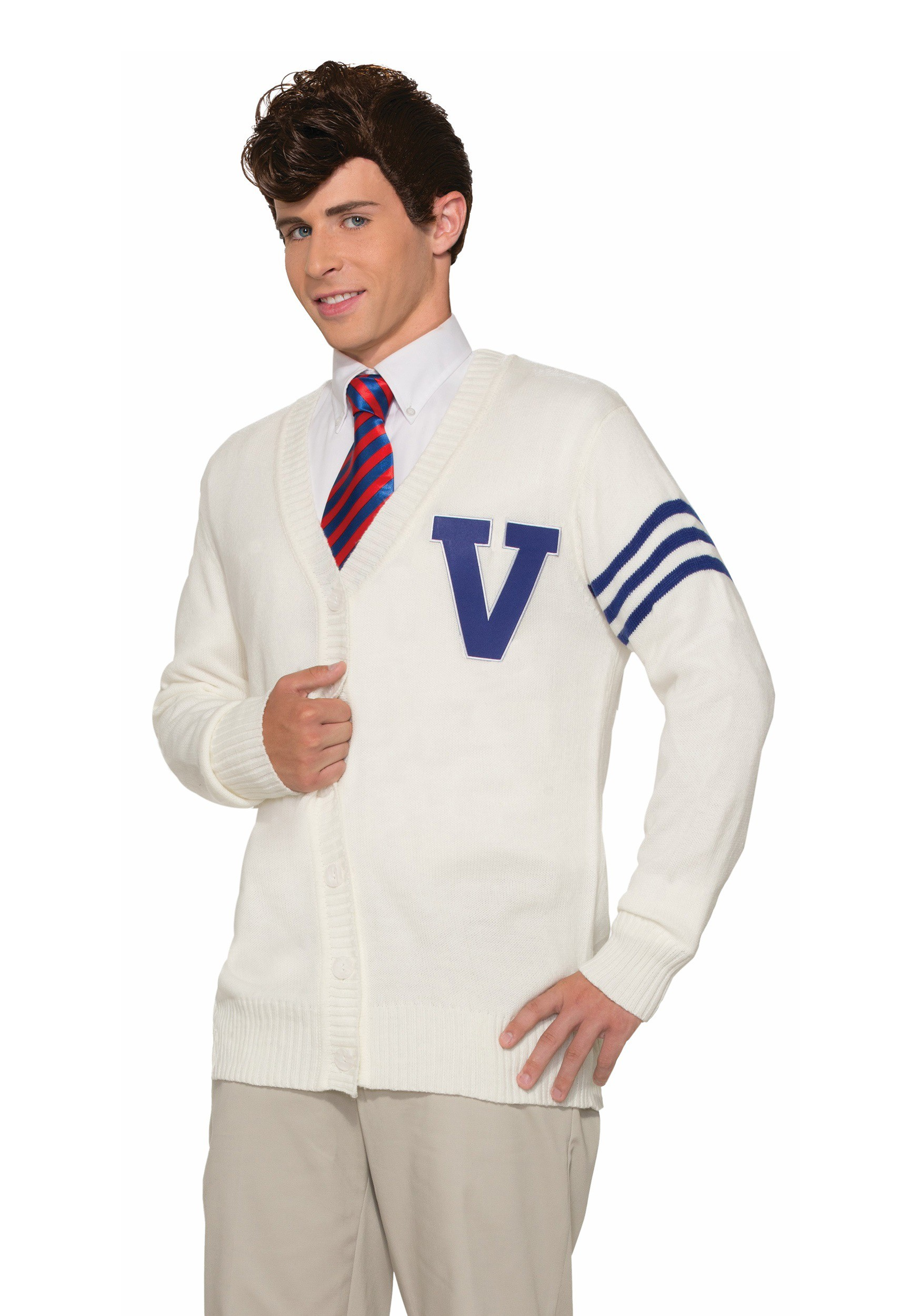 Men's Varsity Sweater Costume