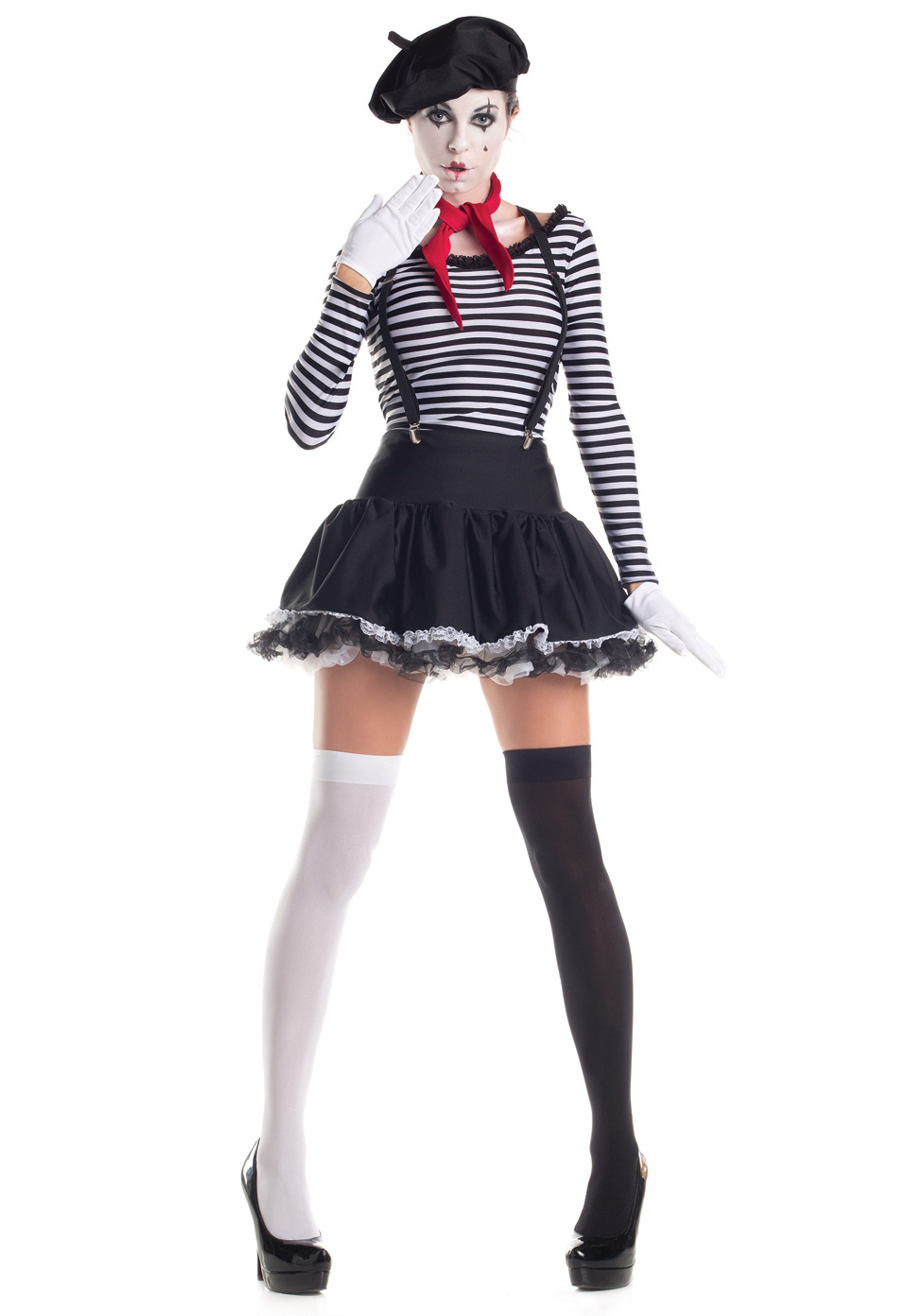 Mesmerizing Mime Costume
