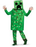 Minecraft Creeper Deluxe Kids Costume