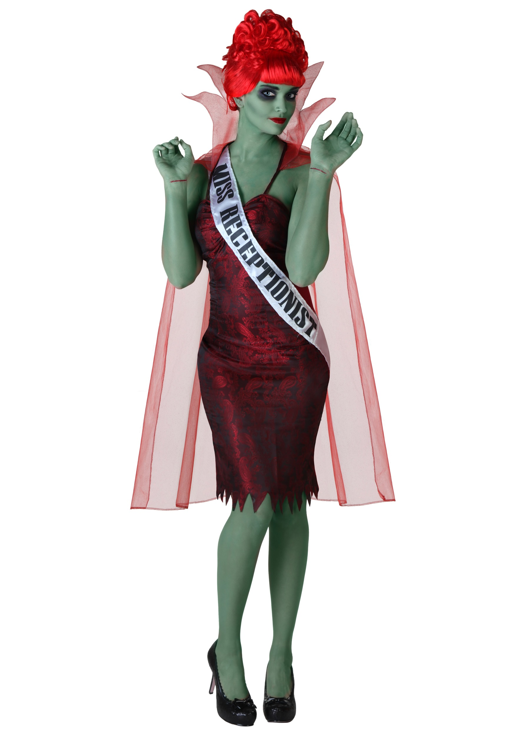 Miss Dead Receptionist Costume