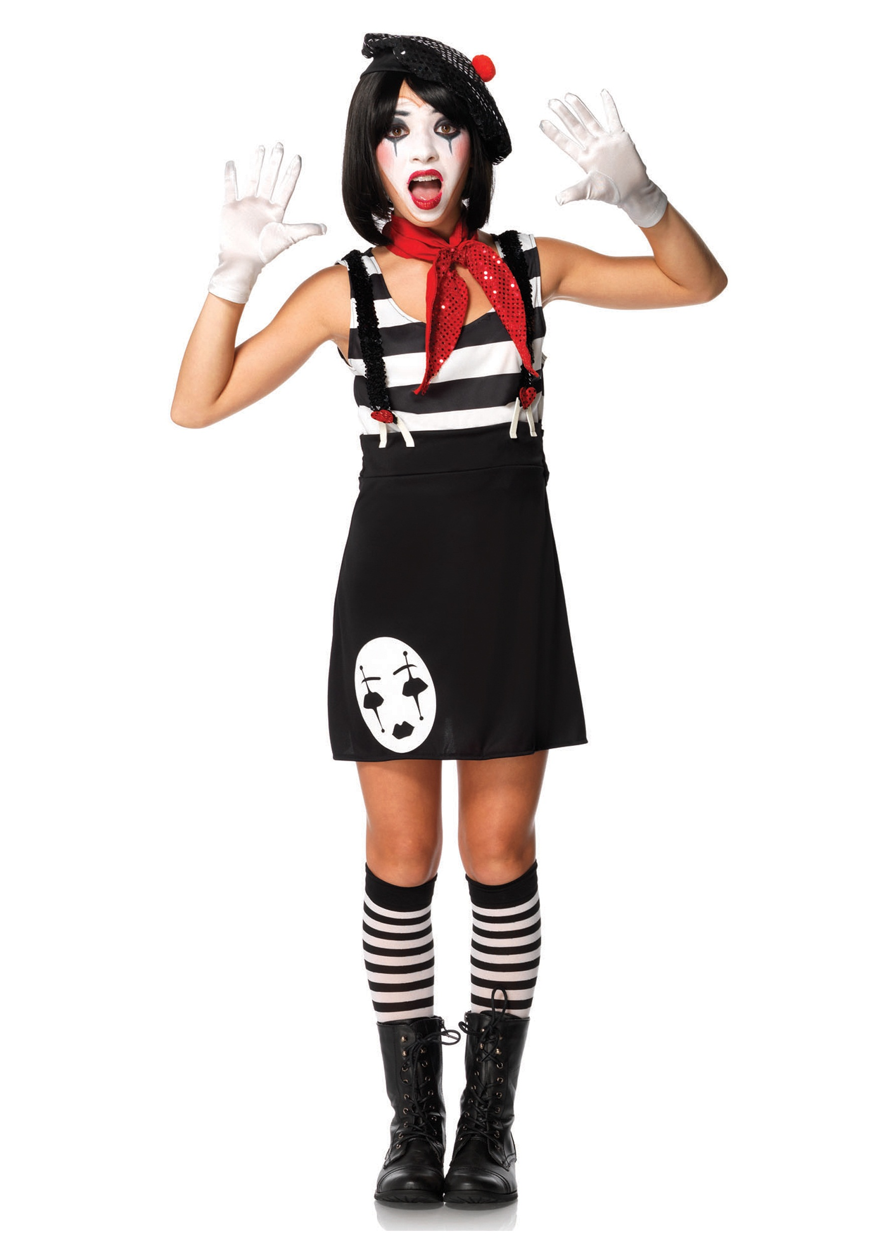 Miss Mime Tween Costume