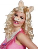 Miss Piggy Adult Wig