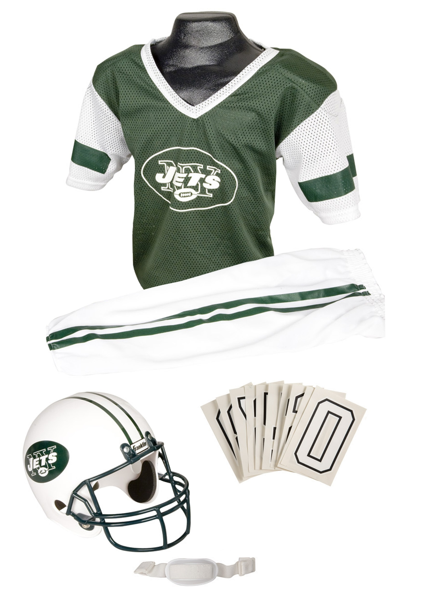 NFL Jets Uniform Costume