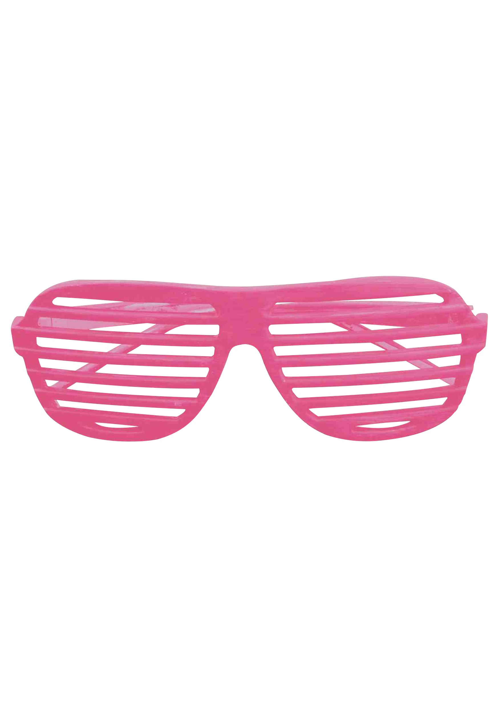 Neon Pink 80s Shades