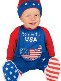 Newborn Pint Size Patriot Costume