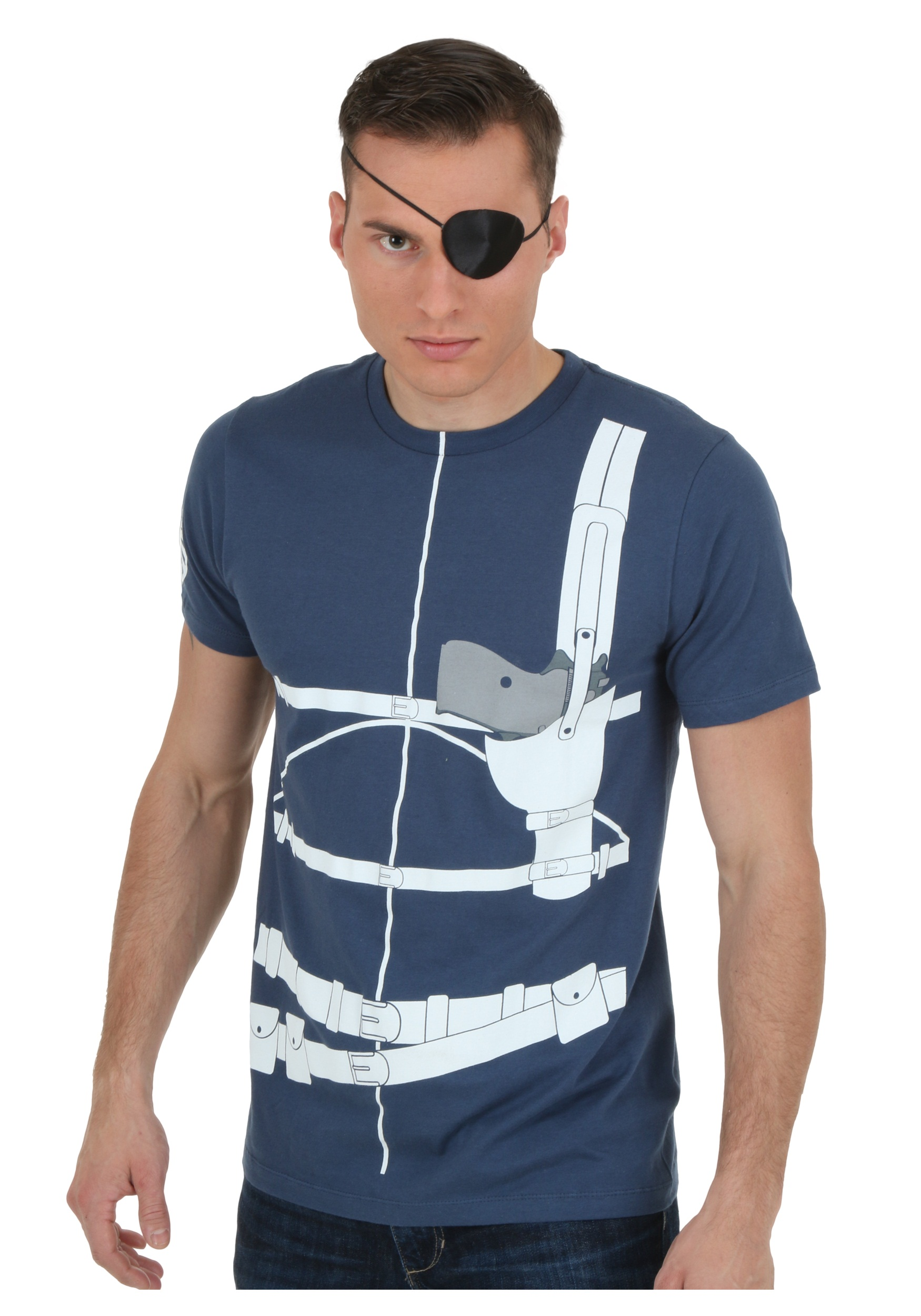 Nick Fury Costume T-Shirt