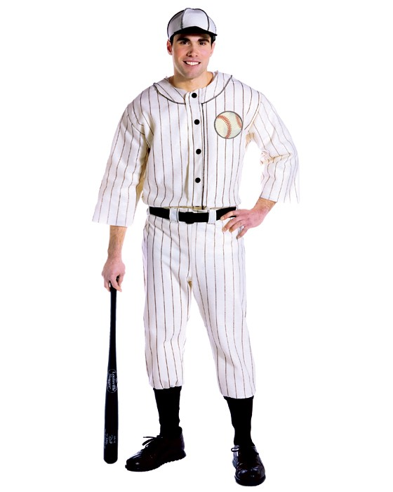 Old Tyme Baseball Player Costume