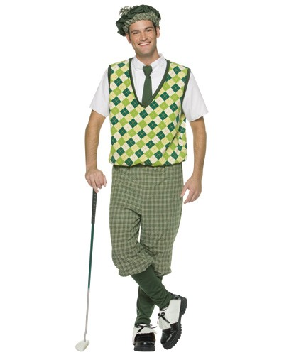 Old Tyme Golfer Costume