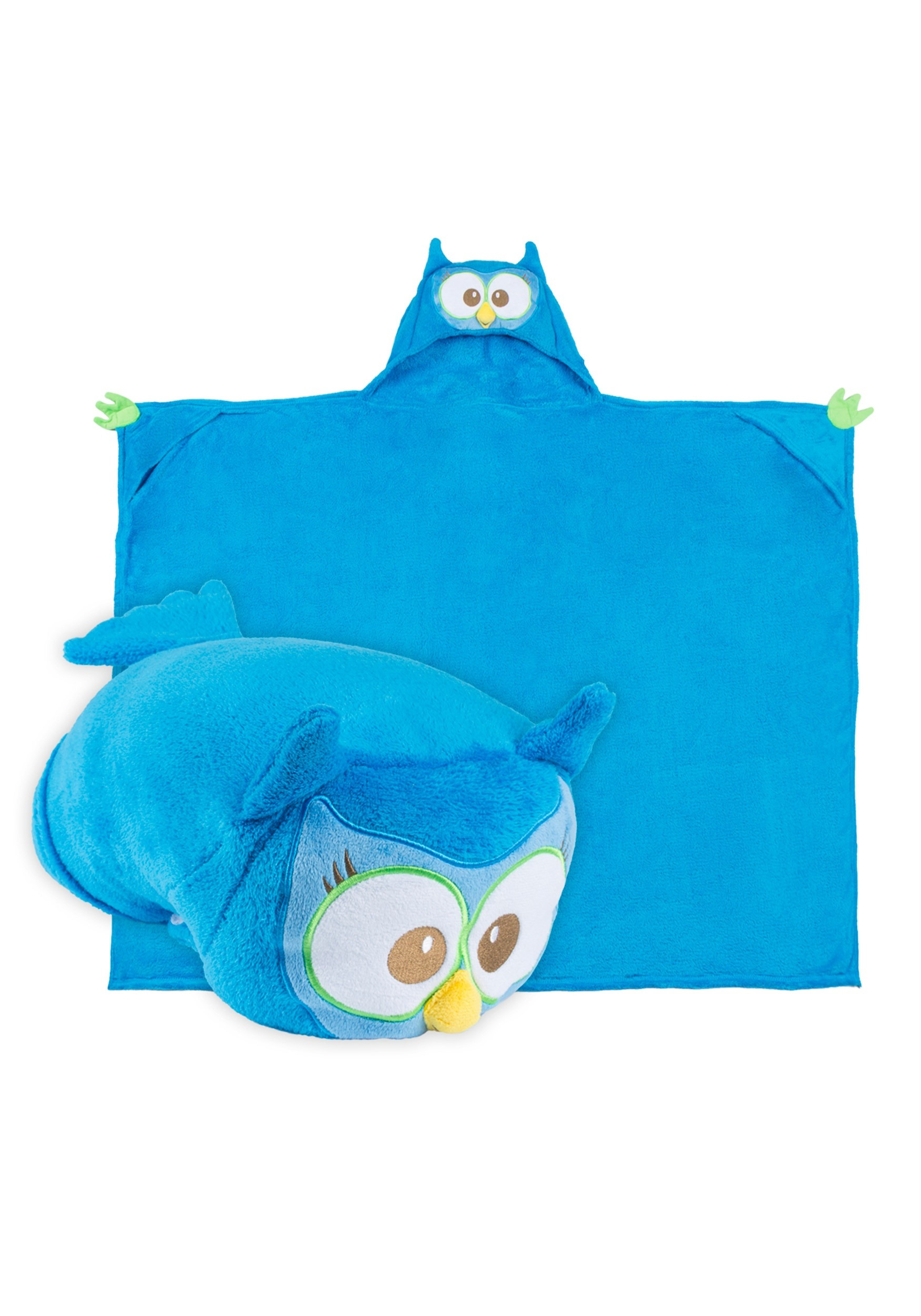 Olive the Owl Comfy Critter Blanket