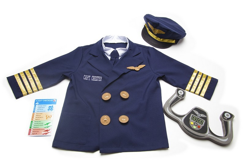 Personalized Pilot Costume Set