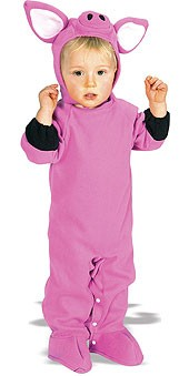 Piggy Wiggy Infant Pig Costume