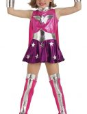 Pink Child Wonder Woman Costume