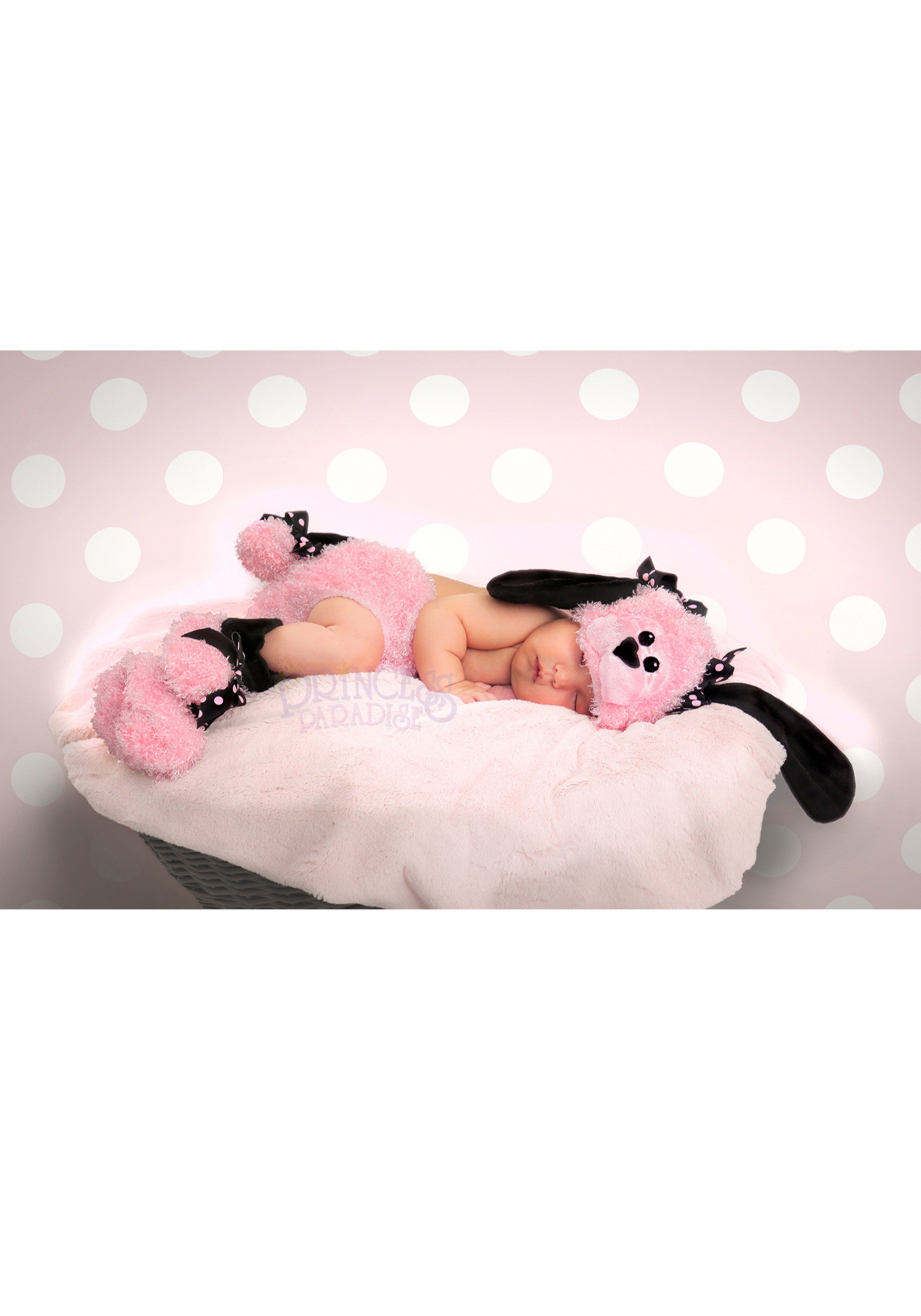 Pinky Poodle Diaper Cover