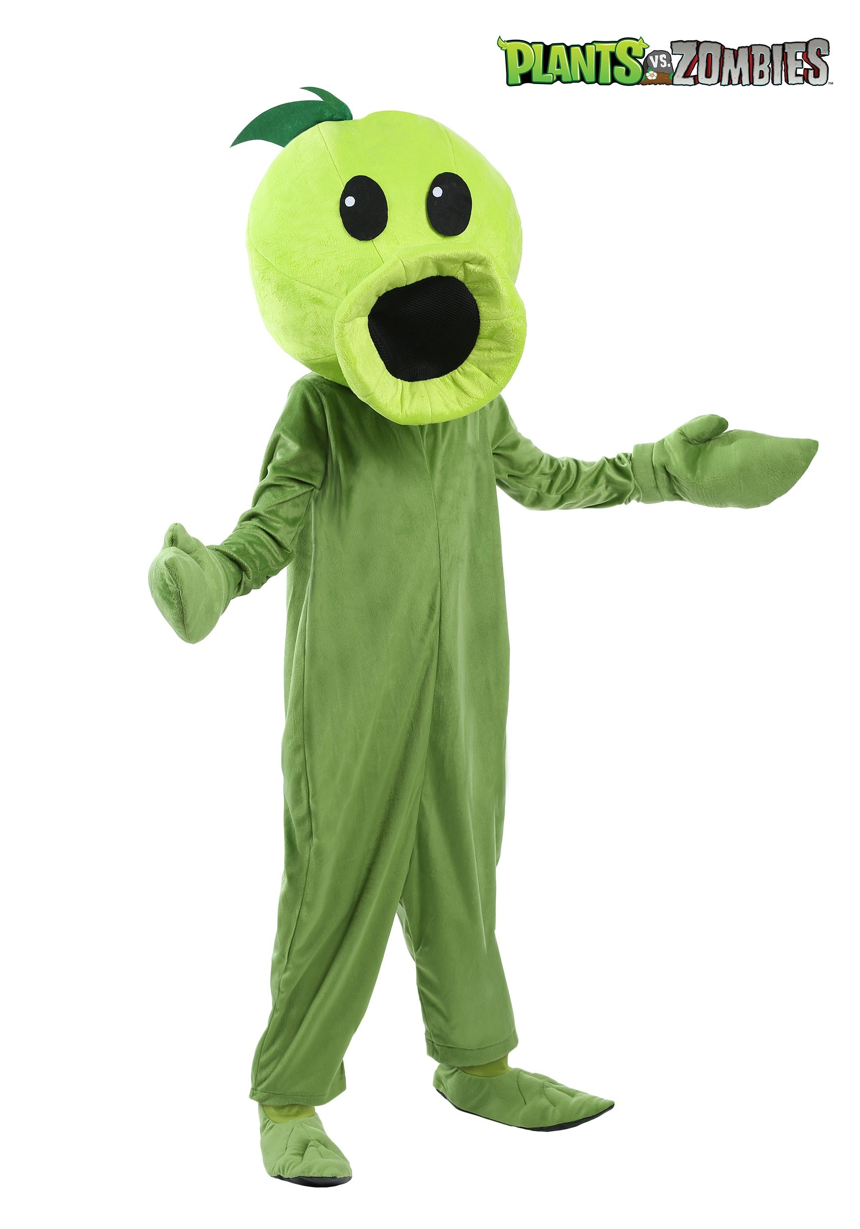 Plants Vs Zombies Child Peashooter Costume