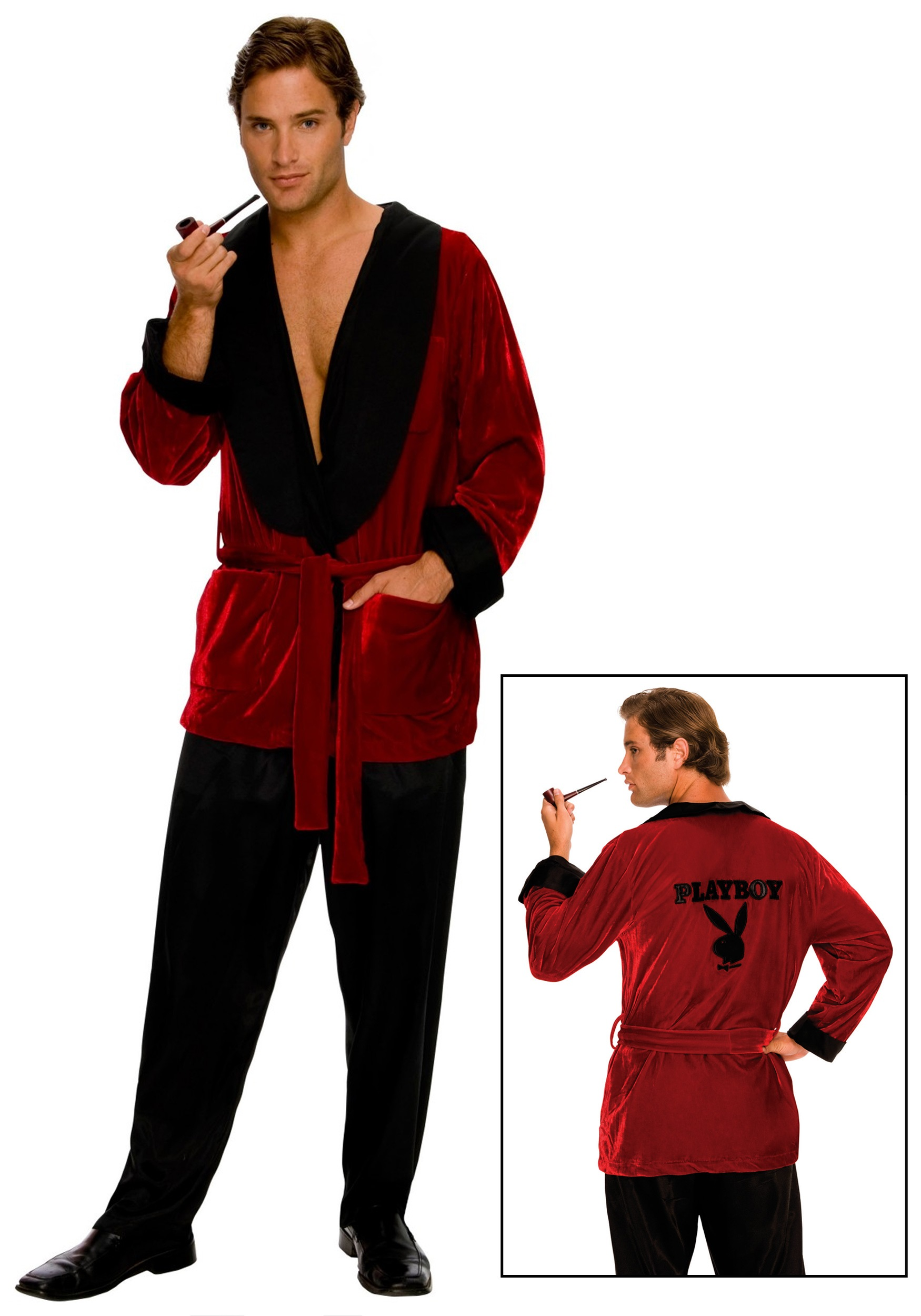 Playboy Hugh Hefner Smoking Jacket