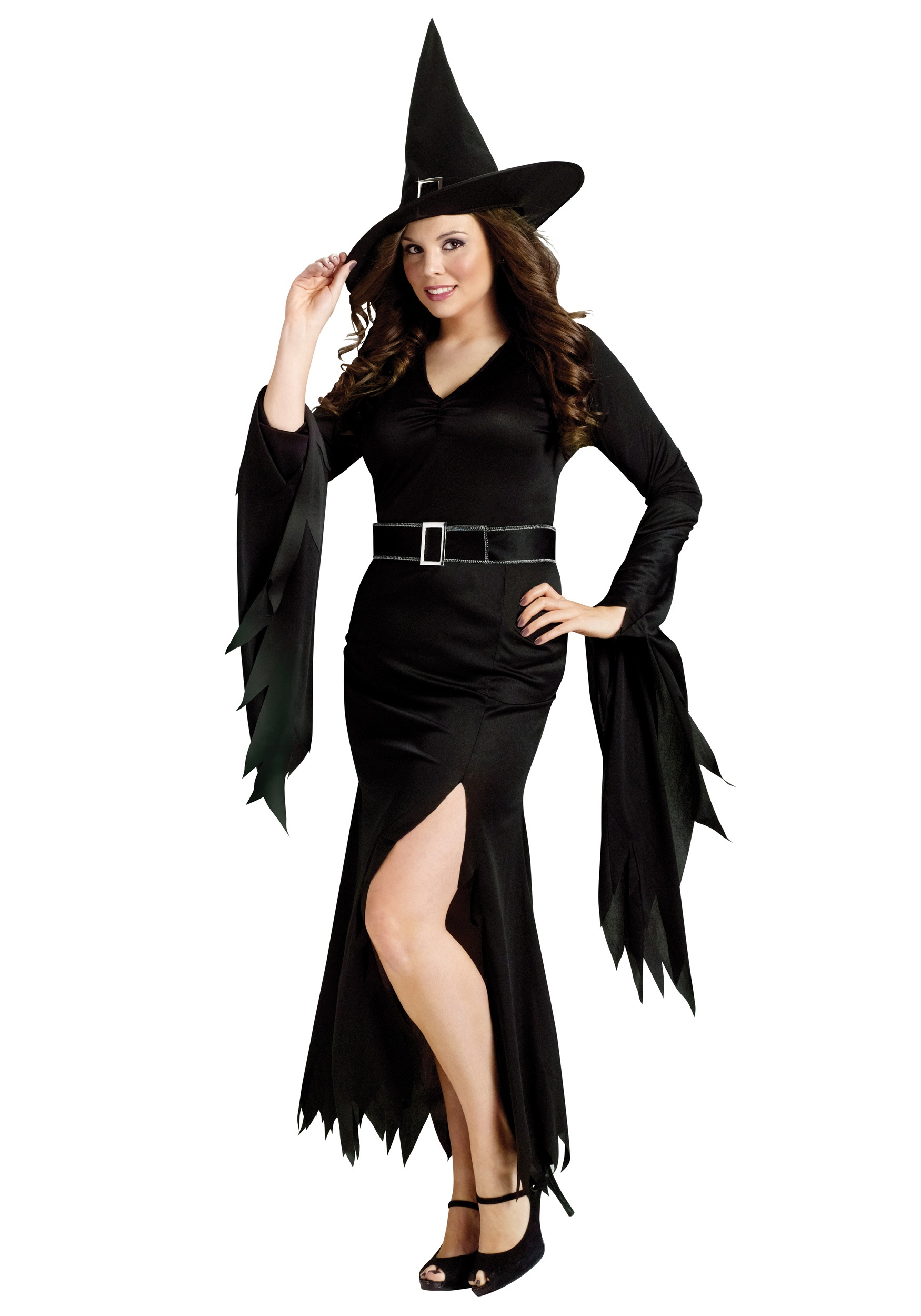 Plus Gothic Witch Costume