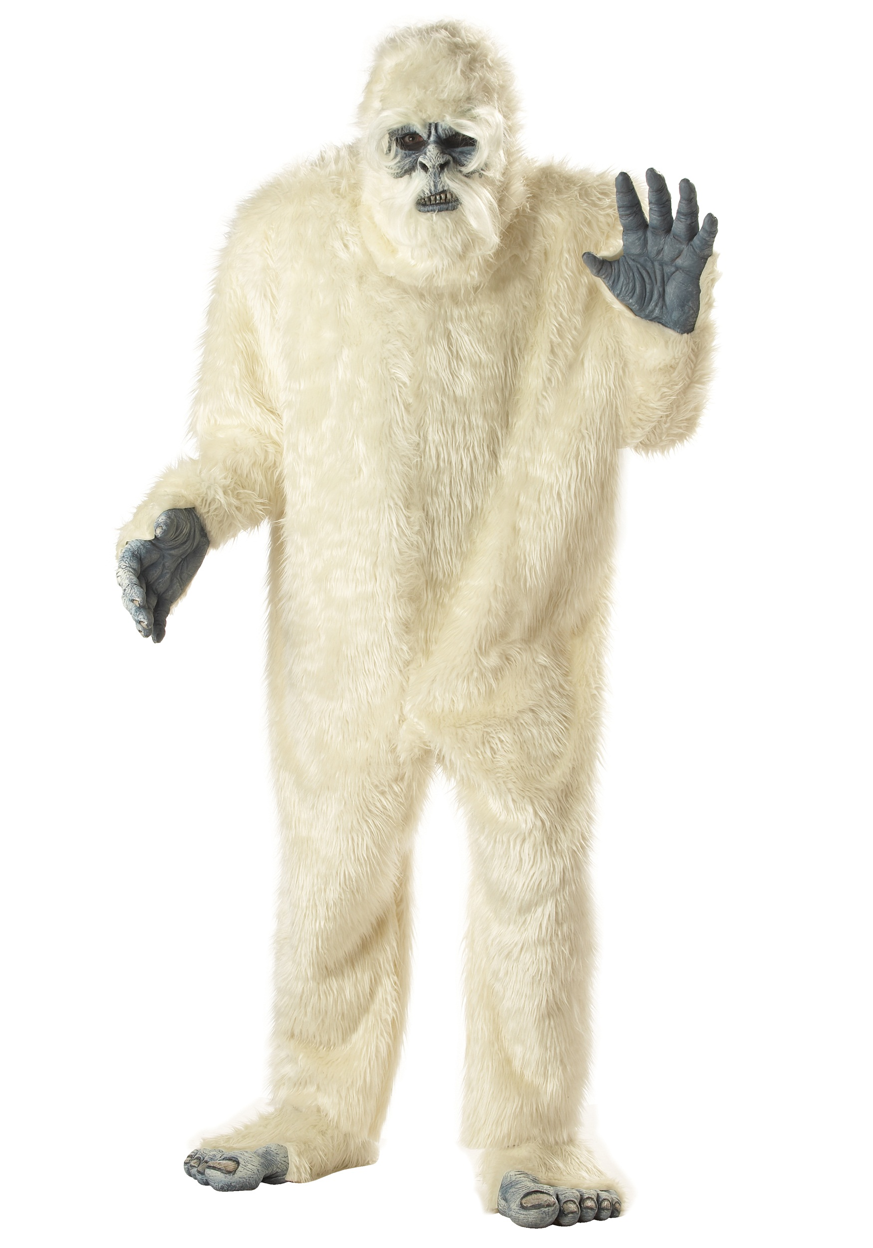 Plus Size Abominable Snowman Costume