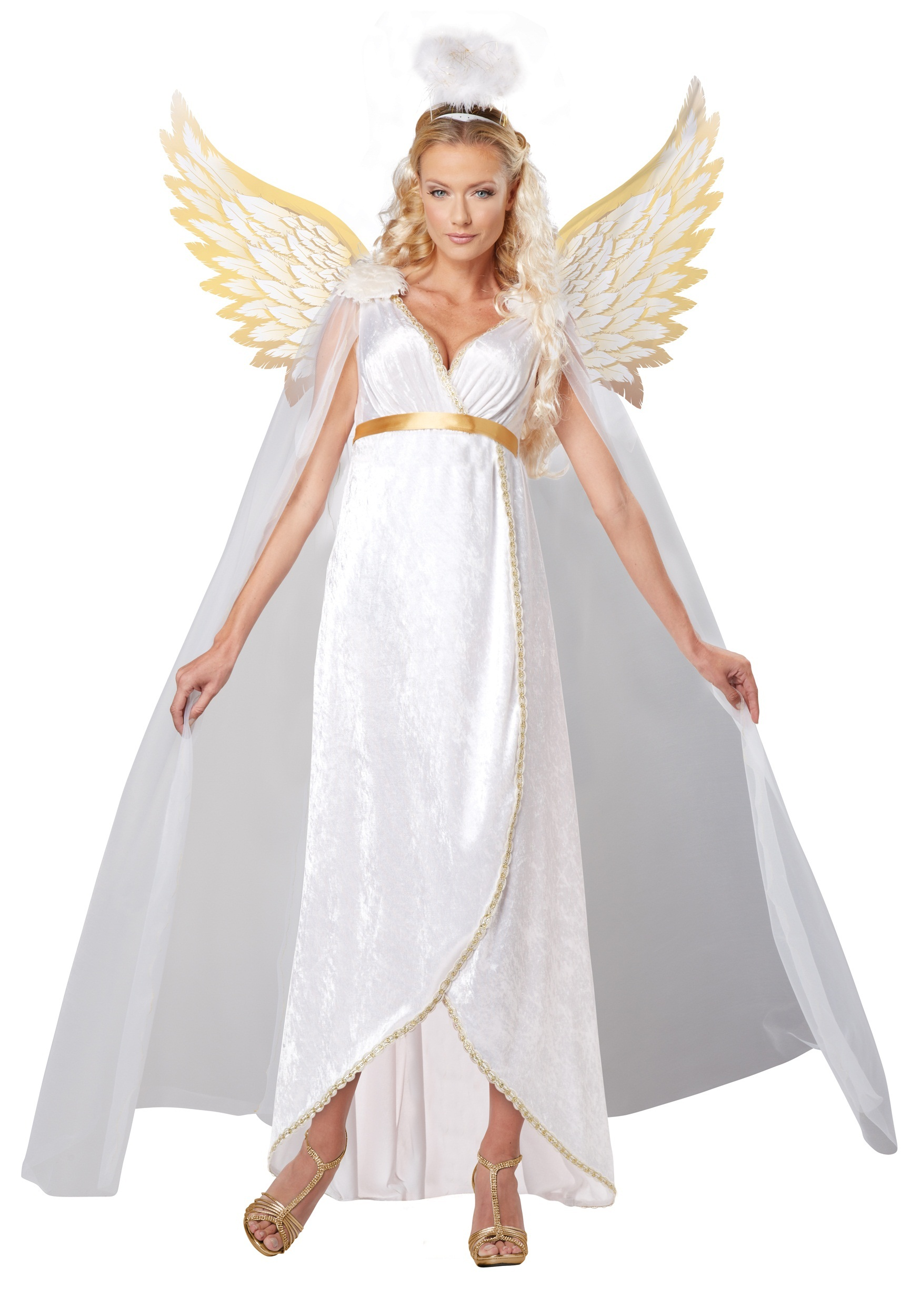 Plus Size Adult Guardian Angel Costume