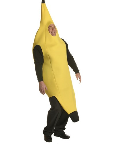Plus Size Banana Costume - Lightweight