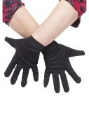Plus Size Black Gloves