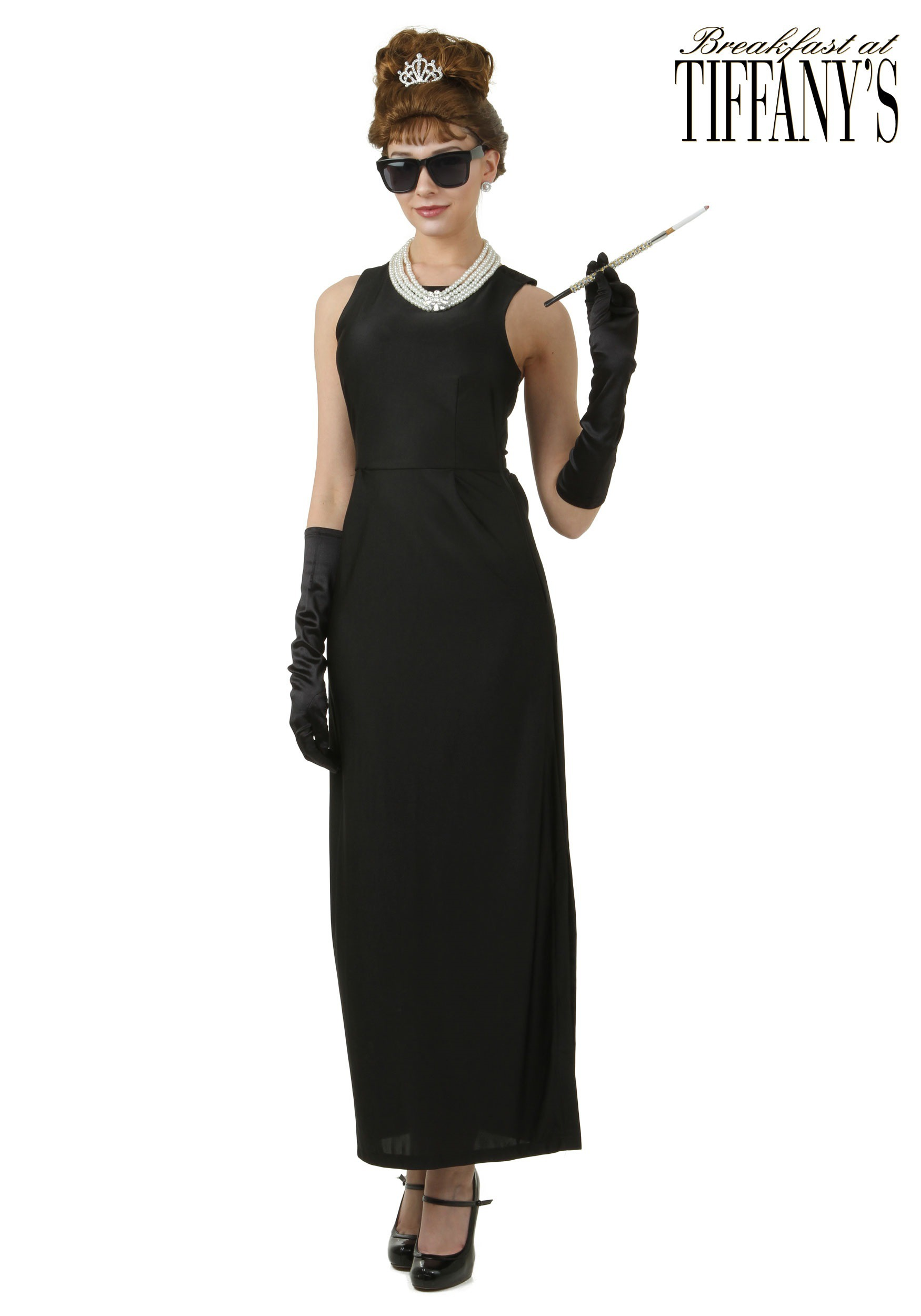 Plus Size Breakfast at Tiffany's Holly Golightly Costume