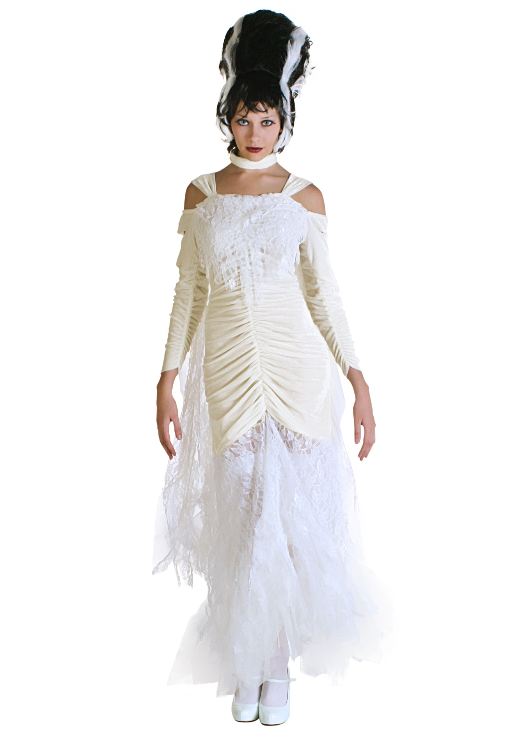 Plus Size Bride of Frankenstein Costume