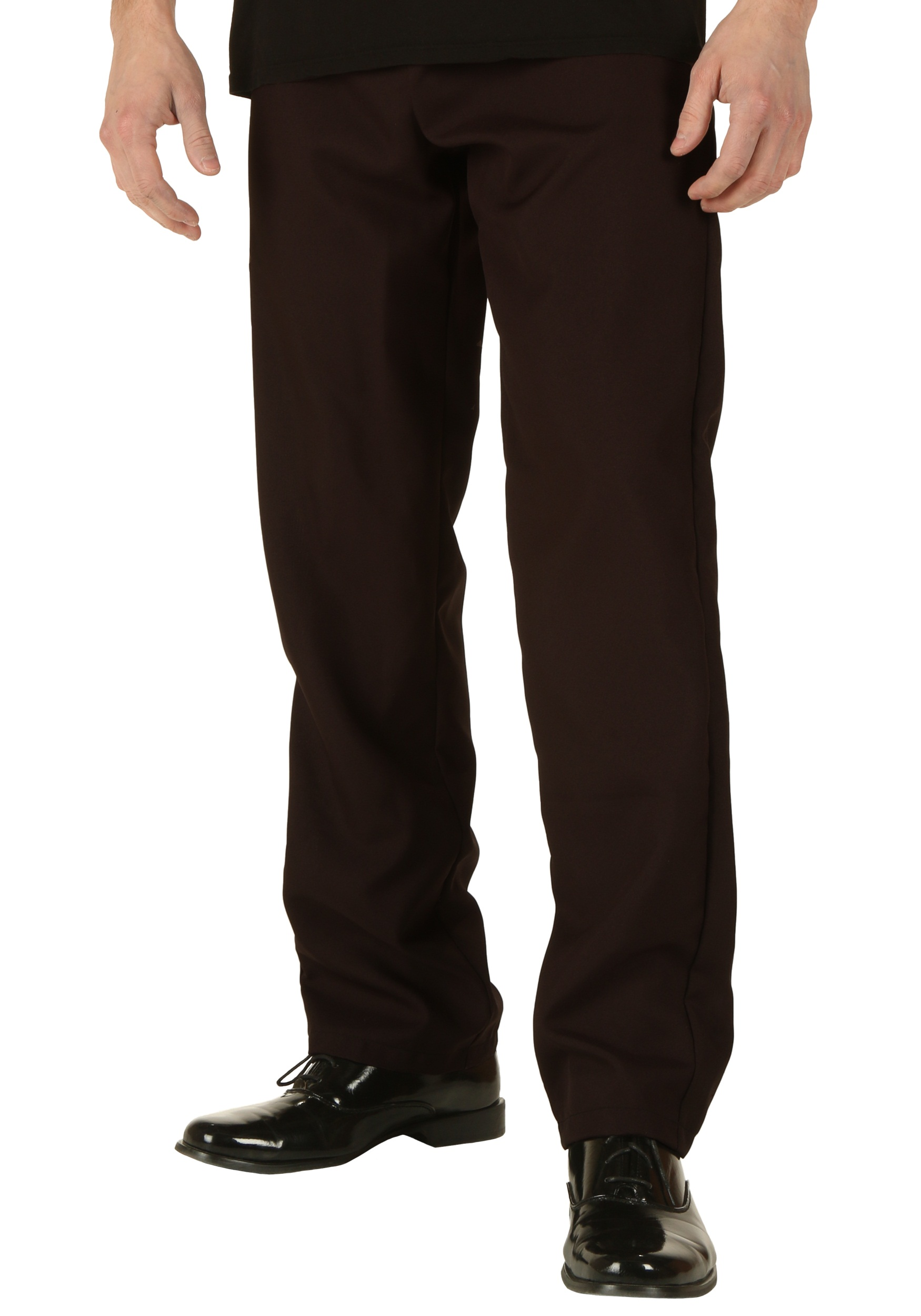 Plus Size Brown Pants