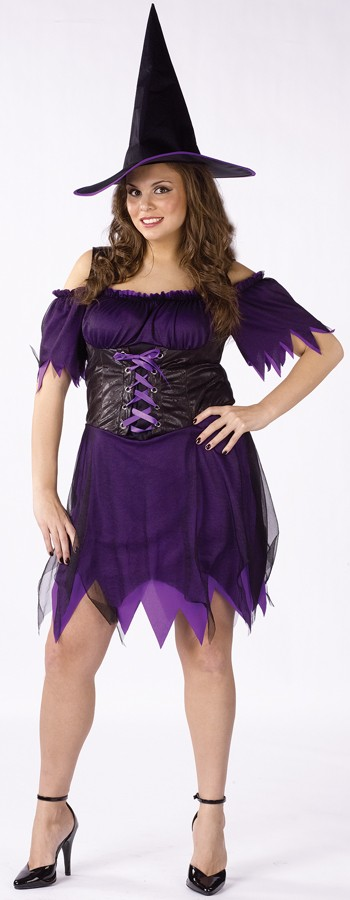 Plus Size Dark Witch Costume