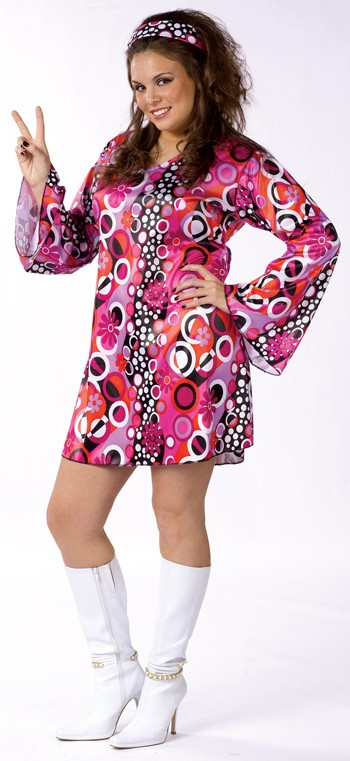 Plus Size Feelin' Groovy 60s Costume