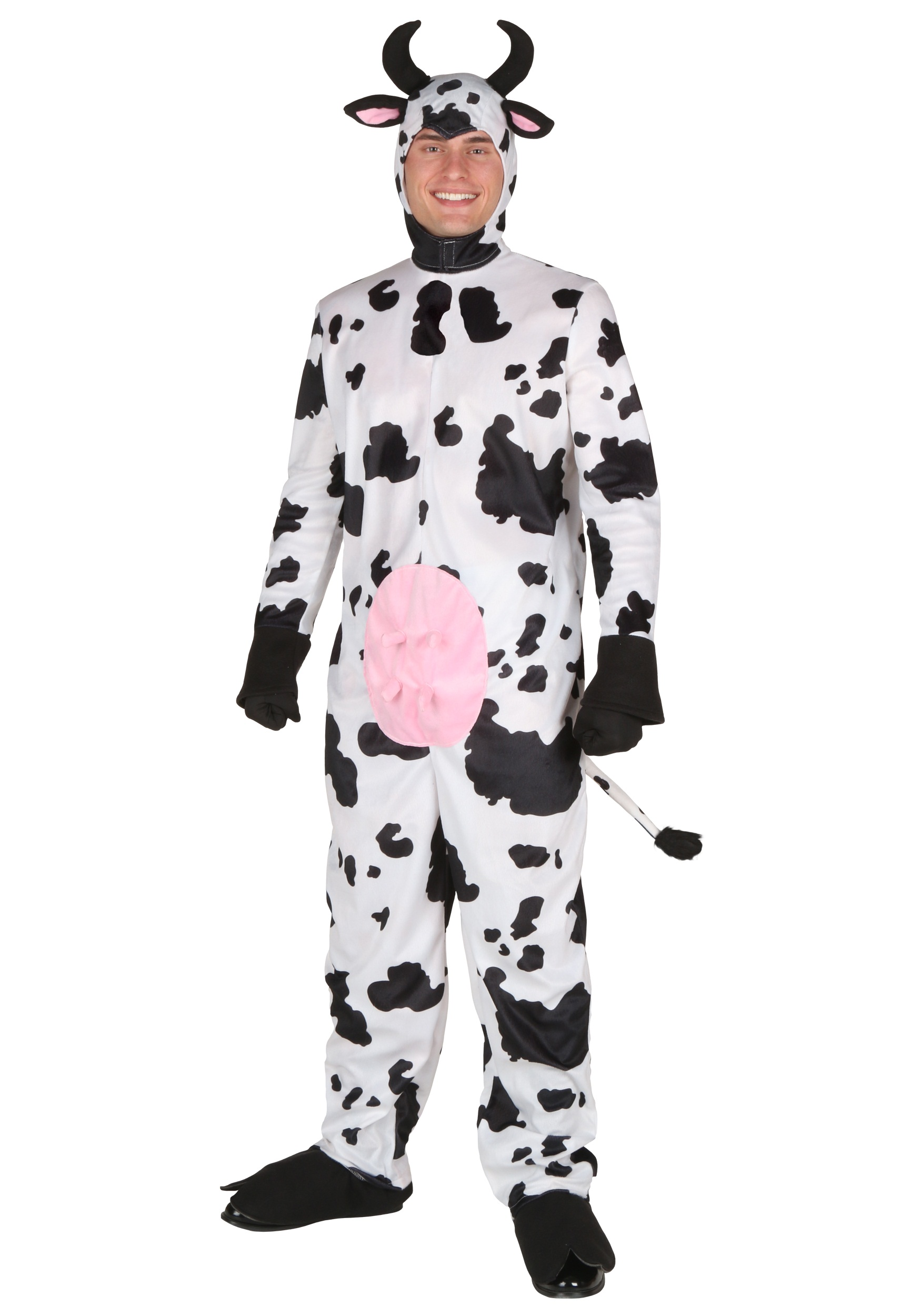 Plus Size Happy Cow Costume