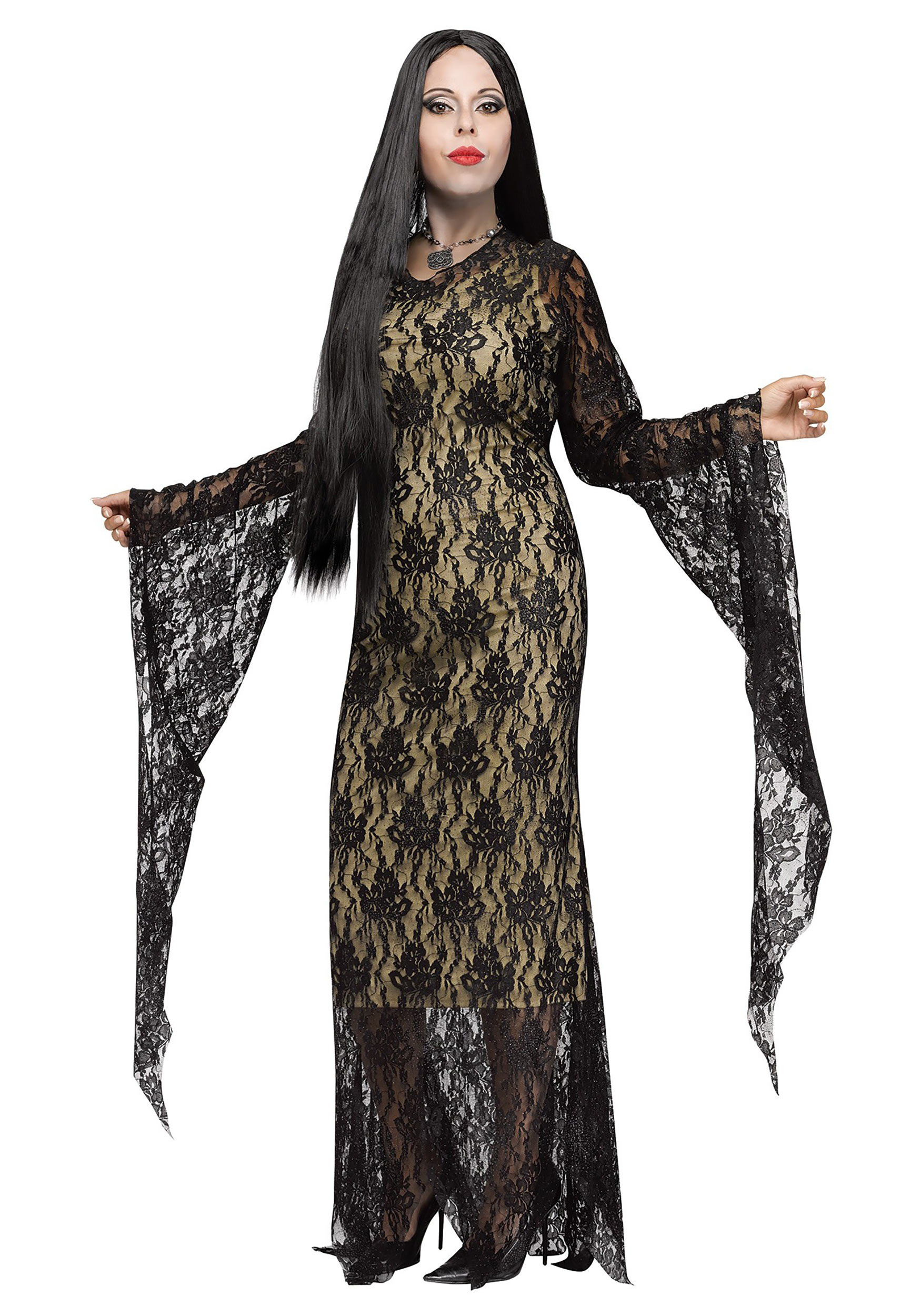 Plus Size Miss Darkness Costume