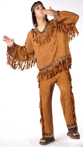 Plus Size Native American Man Costume